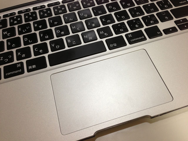 MacBook Airキーボード