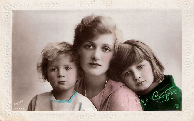 Gladys Cooper and Children