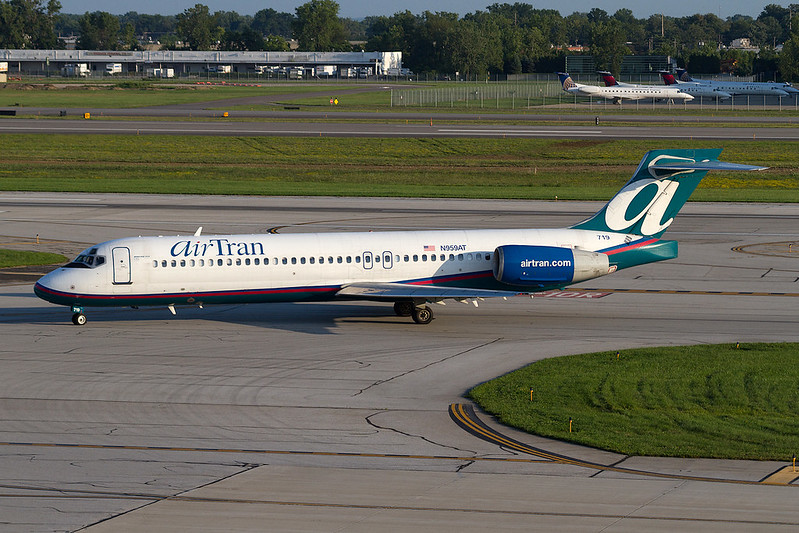 AirTran Boeing 717-200 N959AT KCMH 02AUG13