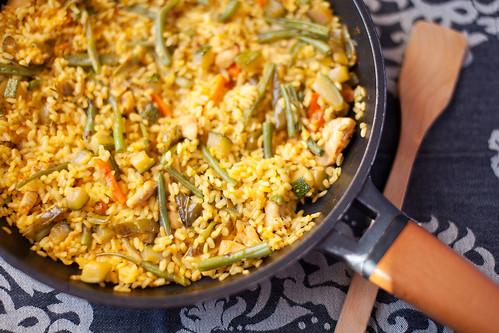 Arròs-sec-amb-pollastre-i-verdures-1