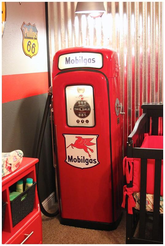 Baby Boy Room Cars: My Way Momma: Holden's Garage...A Vintage Nursery