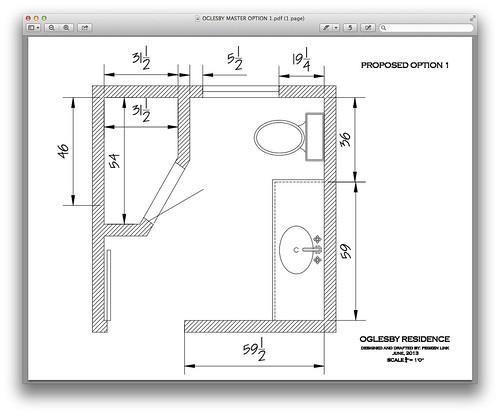 Help with 7x8 bathroom layout for Bathroom ideas 7x7