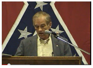Ron Paul Confederate Flag