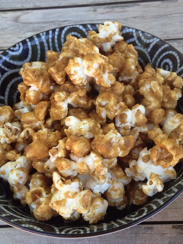 Caramel Corn with Garam Masala