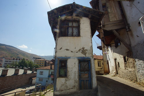 A blue day in Tokat - blue door by CharlesFred