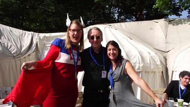 Edinburgh book festival 2013 - SuperSarah, Bryan Talbot & Emma Vieceli