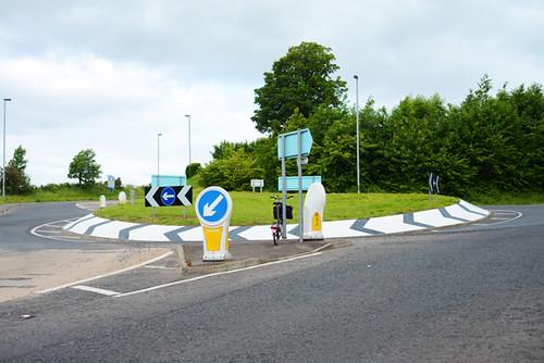 Roundabout, Limavady Northern Ireland