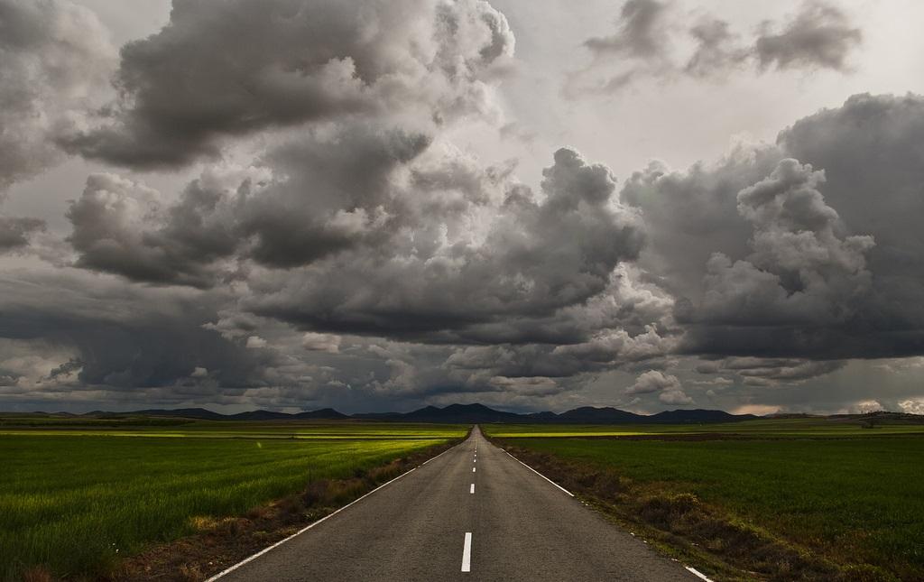 9. La Mancha interminable, el reto del viajero. Autor, Julian Lozano
