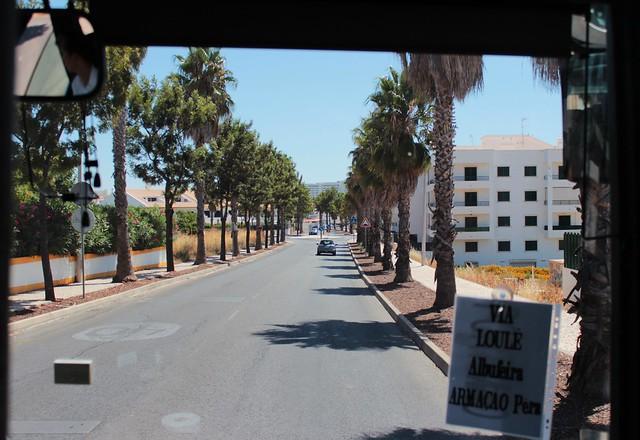 Viajando pelo Algarve de Ônibus e Trem