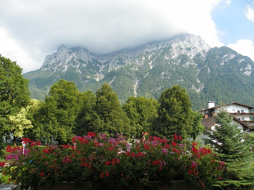 Mittenwald Room Terrace View