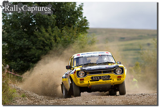 Dylan Davies' stunning Escort RS1600. The prettiest Rally car in the UK in my humble opinion.