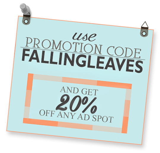 AD PROMOTION CODE FALLINGLEAVES