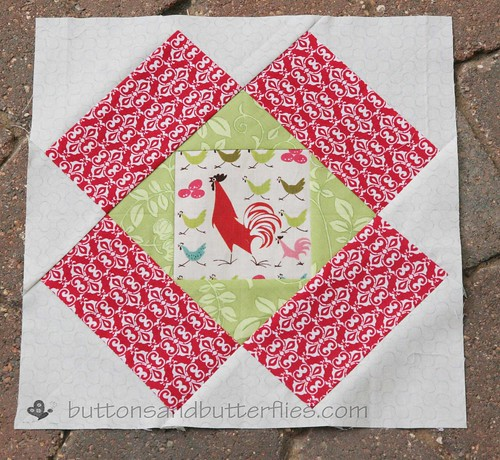 September Rooster block