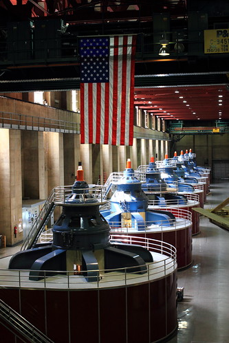 Turbines of Hoover Dam
