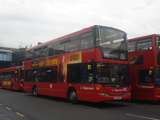 Stagecoach 15016 on Route 252, Romford Station