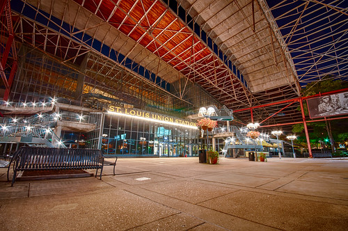 St. Louis Union Station Lights Up by Jeff.Hamm.Photography