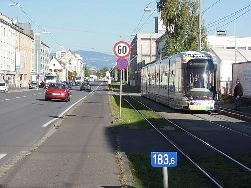 Linzの街にて