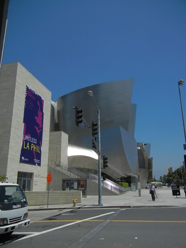 DSCN8645 _ Exterior, Walt Disney Concert Hall, Los Angeles, July 2013