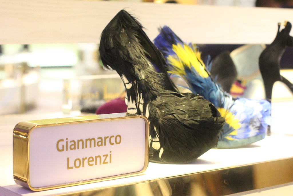 feathered heels, gianmarco lorenzi