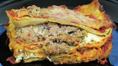 Meat lasagna by Coyoty