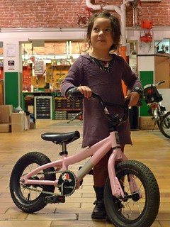 P2's Bad-Ass Pink BMX bike (1)