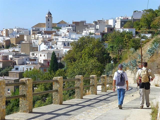 Walk along GR7 Alpujarras