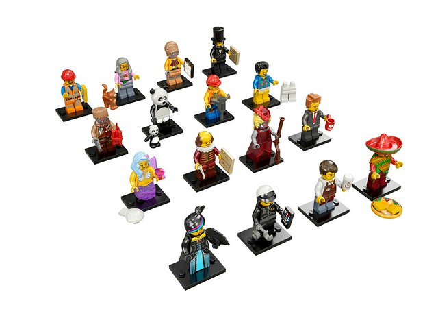 LEGO The Movie 71004 - Collectible Minifigures