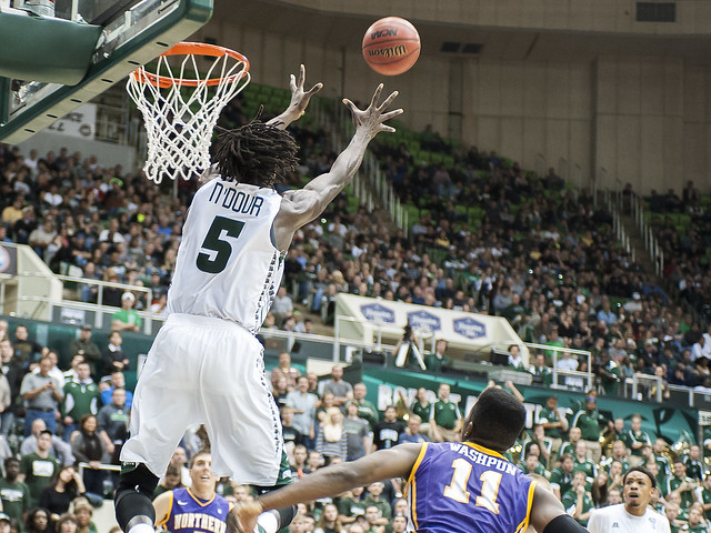 Ohio Men's Basketball Forward Maurice Ndour