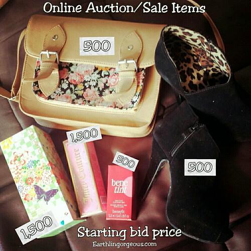 Online Auction/Sale for #RebuildPh