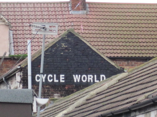 Cycle World - Redcar Ghostsign