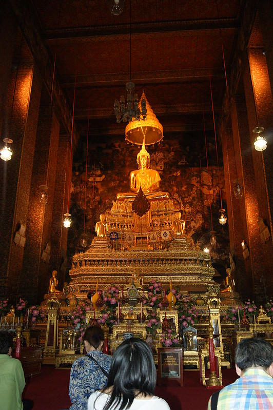 Buda, Wat Pho, BangKok