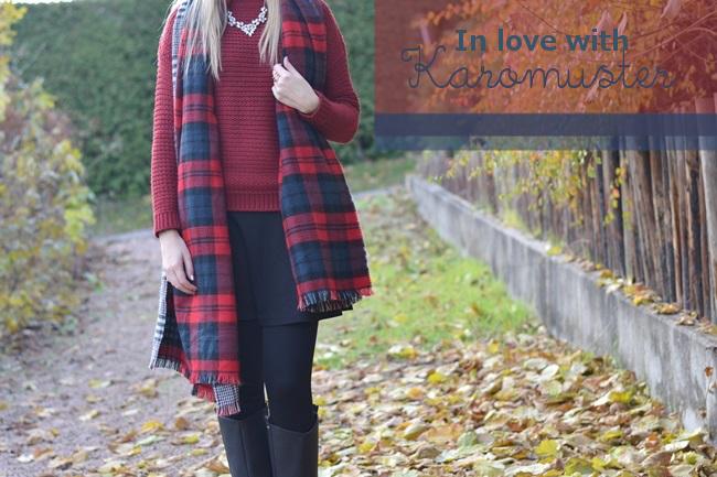 Outfit Zaraschal rot weinrot (2) Banner