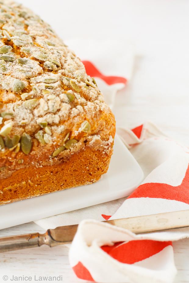 Maple pumpkin loaf | kitchen heals soul
