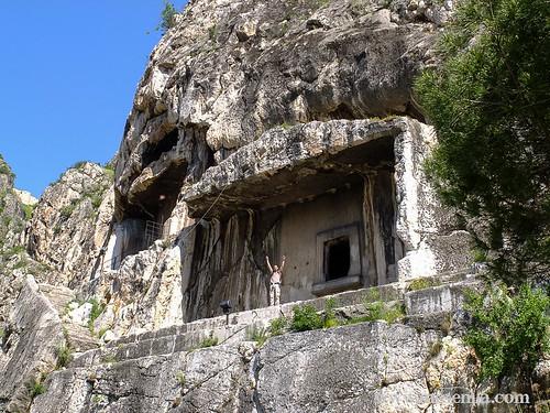 Tumbas pónticas de Amasya