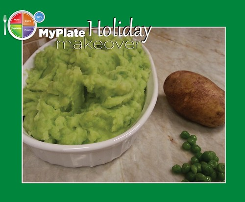 MyPlate Holiday Makeover: Green Mashed Potatoes