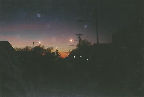 10. A very dark downtown Walton, in Harvey County, Walton, 12 19 04