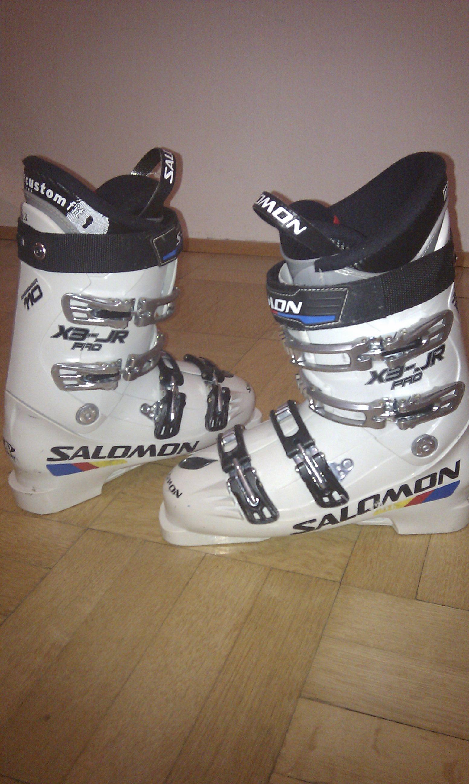 aa459ee86ff Lyžařské boty Salomon X3-JR Pro 27
