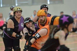 Mixed Roller Derby