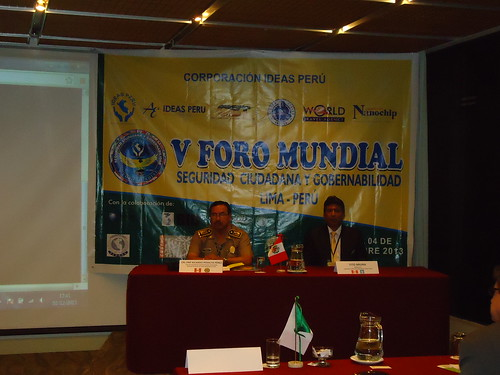 V FORO MUNDIAL DE PROYECTOS SOTENIBLES - LIMA PERU - 1er. dia