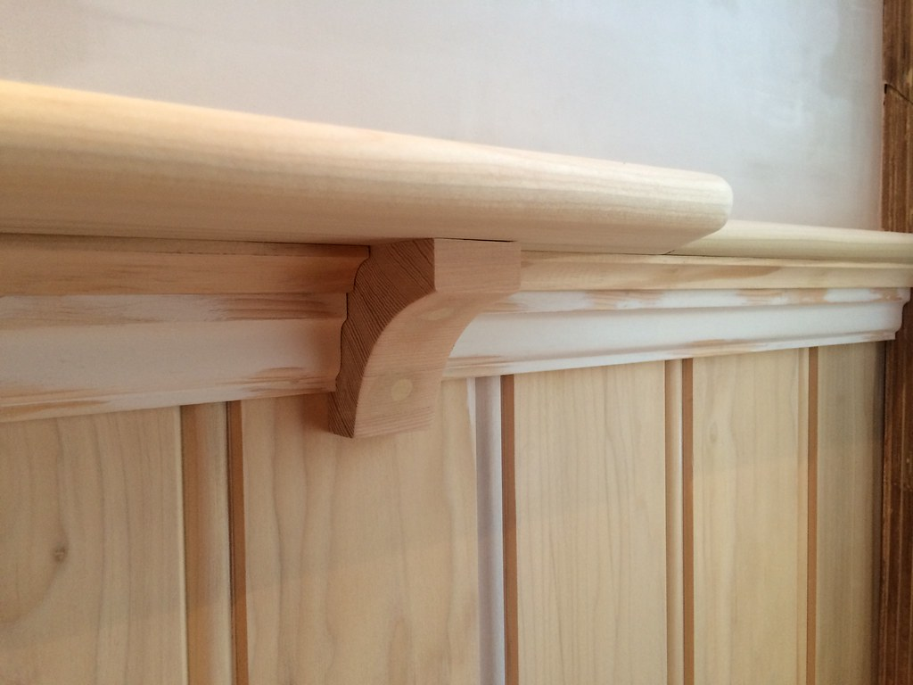 beadboard crown we let the moulding speak to us old town home