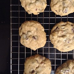 Homemade cookies = I am loved.