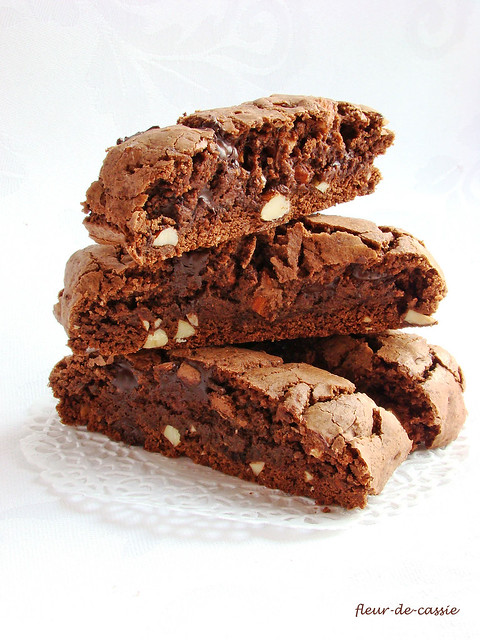 шоколадные бискотти Дори 1