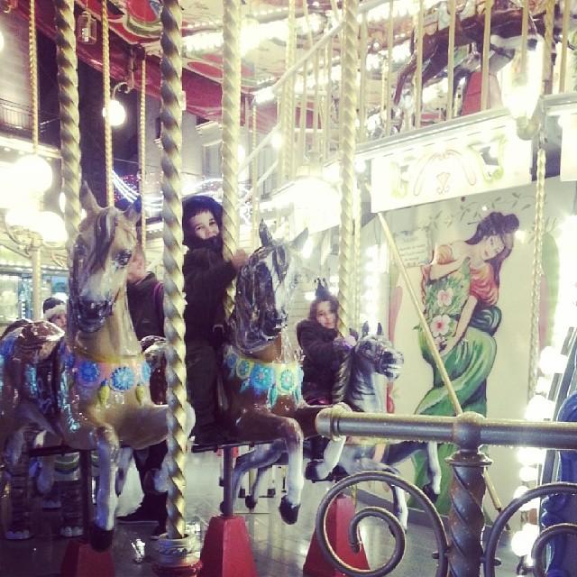 Sur le carrousel de Nantes