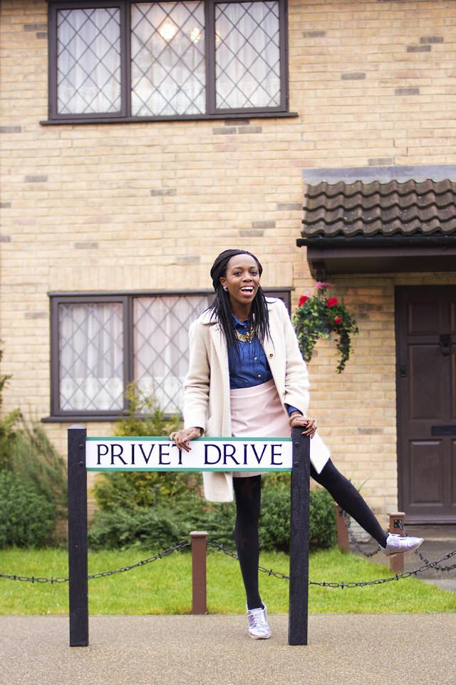 visiting Harry Potter studio tour Watford