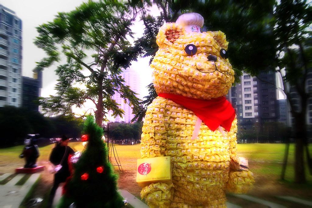 泰迪熊-台中來的