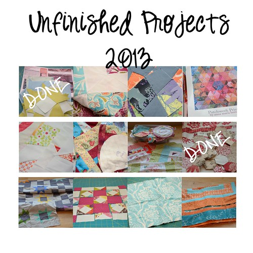Projects 2013-finished noted