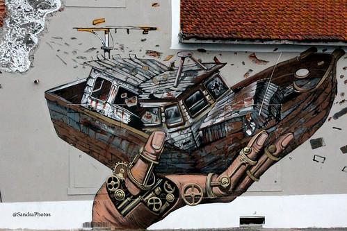 Grafiti - Jardim do Tabaco by SandraFotosPortfolio