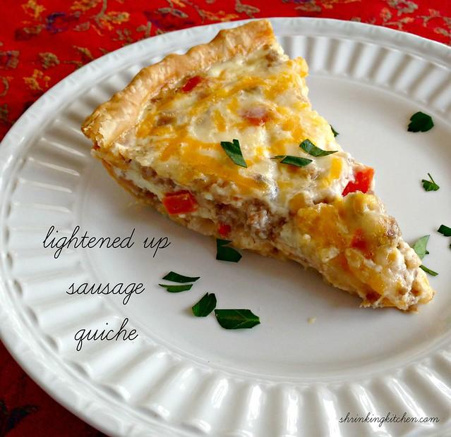 sausage quiche
