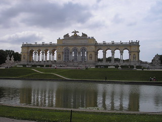 Pałac Schönbrunn w Wiedniu - Glorietta