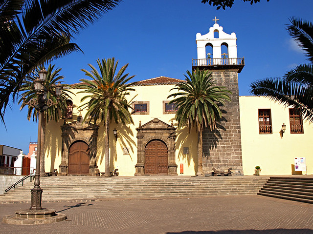 Plaza, Garachico, Tenerife